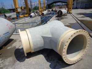 RCCP Wye with Flanges