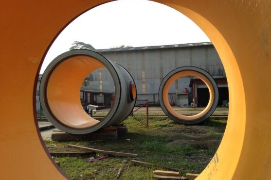 RCCP with HDPE inner layer