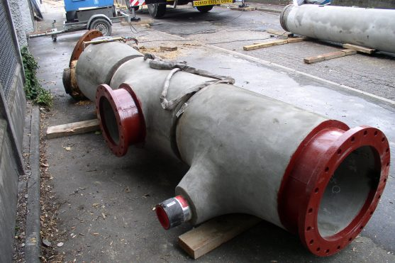 RCCP with HDPE connection for Water Supply